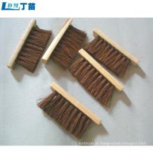 escova de náilon de madeira que não agride o meio ambiente