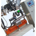 CNC automatic high speed 4 axis toilet brush drilling and tufting machine/toilet brush making machine