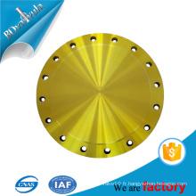 ASTM wcb matériau slip on / plaque / bride aveugle dans JIS standard BD VALVULA