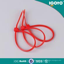 Attache de câble en nylon noir / blanc avec toutes les tailles