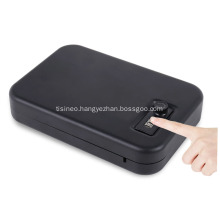 portable gun safe with security cable
