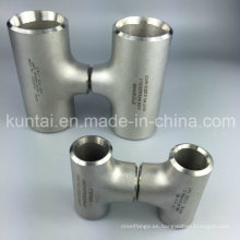 Tubería de acero inoxidable Ss Reducing Tee (KT0380)