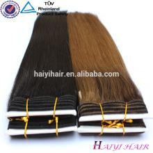 Выдвижение Волос Remy Ранга Верхней Части Волос Remy Волос Weave Цвет 33