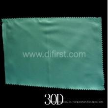 Tejido tejido blanco interlineado con azul (30D)
