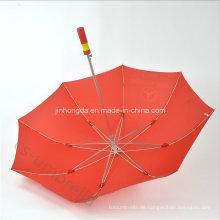 "27 ""Fiberglas Rib Promotion Werbung Golf Regenschirm mit Logo (YSS0117)"