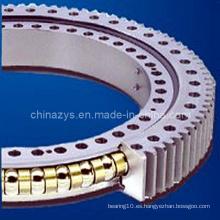 Rodamiento de giro de bola de contacto de cuatro puntas de una fila de Zys