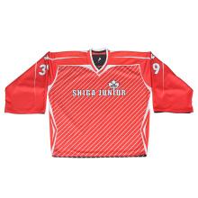 Camisas de encargo del hockey sobre hielo de la Sublimation