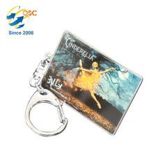 Heißer Verkauf Billig Werbe Benutzerdefinierte Metall Emaille Keychain