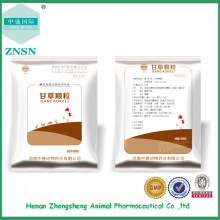 Médecine vétérinaire Médicament chinois Licorice granule en vente à partir de Chine