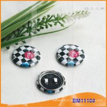 Emblema redondo do botão do Pin BM1110