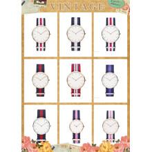 2015 Custom Fashion Alloy Watch with Nylon Strap (DC-851)