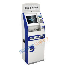 Lobby Free Standing Foreign Currency Exchange Banking Kiosk