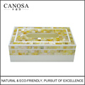 Wholesale Golden Mother of Pearl Tissue Boxes