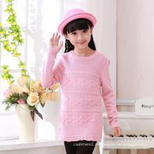 neueste design pullover baby mädchen muster gestrickte pullover mit hoher qualität