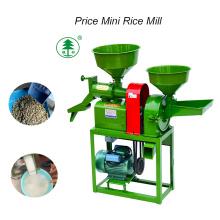 Jinsong 2018 Auto Mini planta de molino de arroz