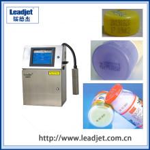 Máquina de impressão plástica da data da expiração da garrafa do Inkjet automático de Leadjet