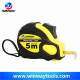 3m Two lock rubber measuring tape/promotion sticker logo measuring tape 7.5m
