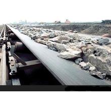 Correa de caucho de cinta transportadora resistente a los impactos para grandes mercancías Transportaion