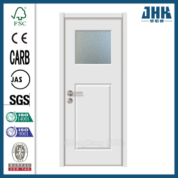 JHK Office Wood With Glass Interior Door