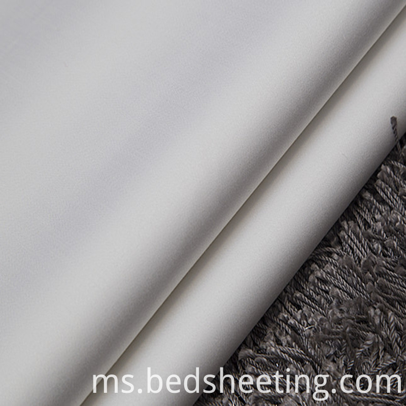 Cotton Sateen Fabric 1000t White