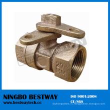 Китай бронзовый замок Шарикового клапана быстрая поставщика (БВ-Л12)