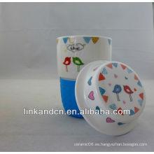 KC-01219 taza de cerámica, tazas de cerámica de Navidad