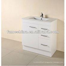 Armário de casa de banho MDF branco novo 2013 FM-B750KW-14