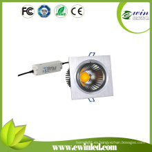 15W Square LED Downlight con CE, TUV, FCC, aprobación de RoHS