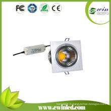 Downlight carré de 20W LED avec le CE, TUV, FCC, approbation de RoHS
