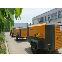110kw 10bar Mobile Diesel Engine Air Compressor