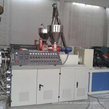 PVC-Kunststoff-Doppelschneckenextruder Sj-Serie