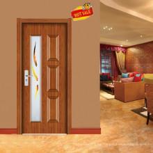diseño de lujo puerta de madera simple