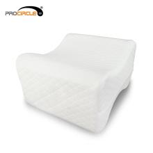 Travesseiro confortável do joelho dos dorminhocos laterais do algodão da memória