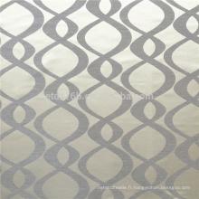 Nouveau type de rideau en polyester brillant