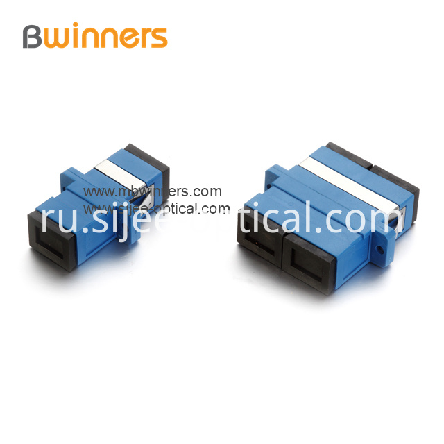 Sc Pc Sm Fiber Optic Adapter