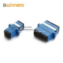 Acoplador adaptador de cable de fibra óptica dúplex simple