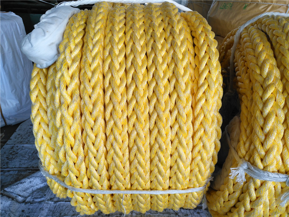 8 Strand Polyeste Polypropylene Mixed Rope
