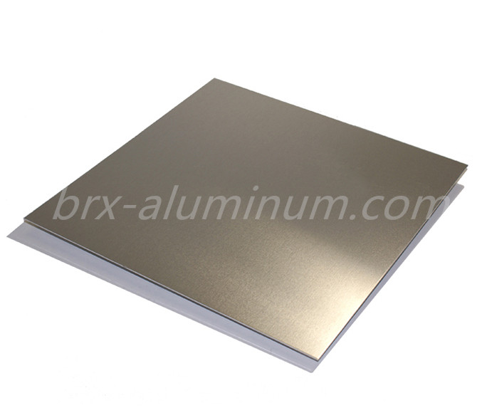 Anodized Sandblasted Aluminum Alloy Panel