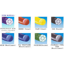 Хирургические швы из различных материалов