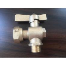 Válvula de plomo del medidor de agua de latón (a 8009)