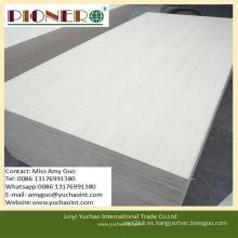 Cortar madera contrachapada comercial del álamo cortado con precio bajo