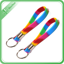 Promotional Advertising Customized PVC Keychain for Wedding