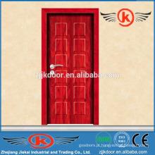 JK-MW9005 melamina mdf porta revestida de madeira revestida