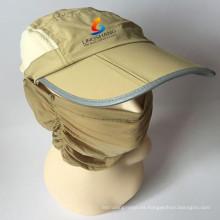 Al aire libre Balaclava máscara a prueba de viento máscara de cuello de cuello completo máscara de respiración rápida de secado Hat