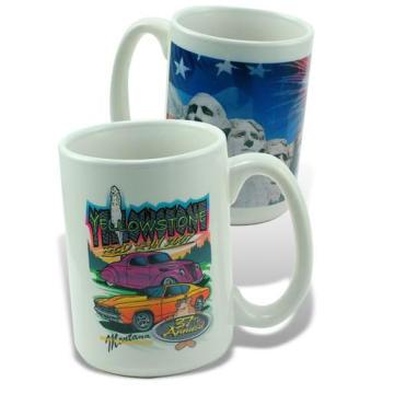 Sublimation Mug, 15oz White Mug, 15oz Sublimation White Mug