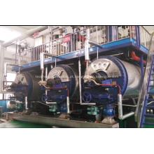 Fogão de lote de planta de processamento