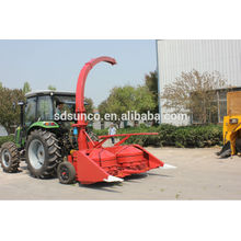 Farm machinery Tractor mounted silage harvester