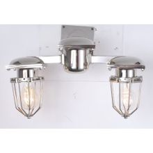 Metropolitan Railway Double Sconce Wall Lamp (KM0177W-2(chrome))