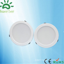 new white led downlight with 150mm cut out 100-240v smd5730 15w jewelry shop led ceiling light