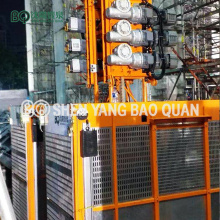 Construction Hoist Double Cage